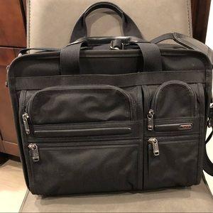 TUMI Expandable Organizer Laptop Case